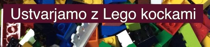 Ustvarjamo z Lego kockami